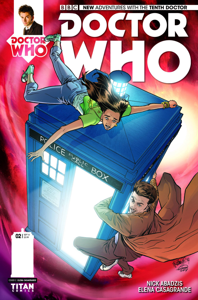 Doctor Who: New Adventures with the Tenth Doctor #2 (10 Copy Casagrande Cover)
