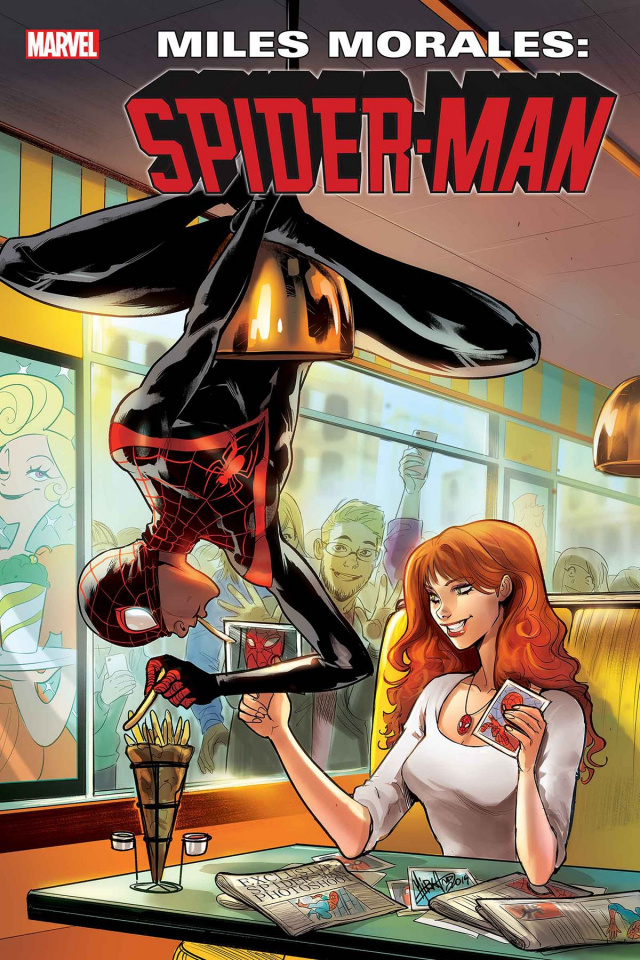 Miles Morales: Spider-Man #11 (Andolfo Mary Jane Cover)