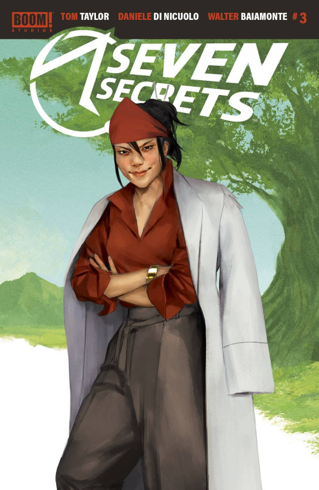 Seven Secrets #3 (10 Copy Mercado Connecting Cover)