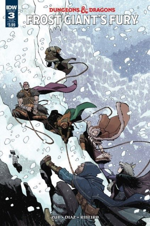 Dungeons & Dragons: Frost Giant's Fury #3 (Subscription Cover)