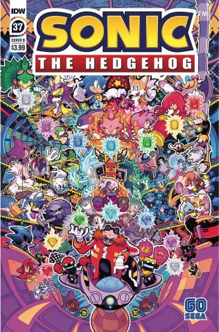 Sonic the Hedgehog #37 (Jon Gray Cover)