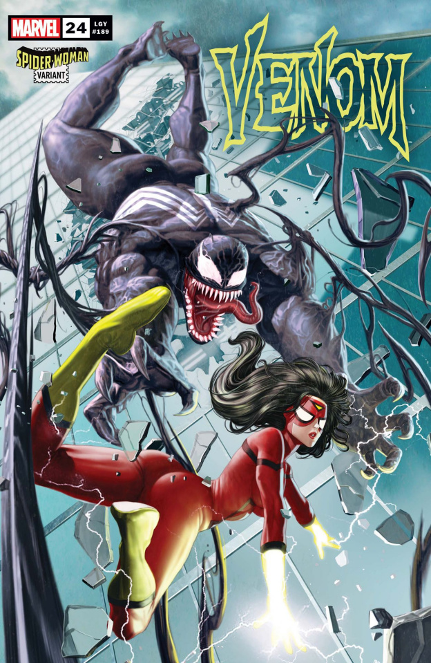 Venom #24 (Rock-He Kim Spider-Woman Cover)