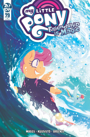 My Little Pony: Friendship Is Magic #79 (10 Copy Babinska Cover)
