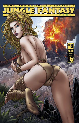 Jungle Fantasy: Ivory #8 (Luscious Cover)