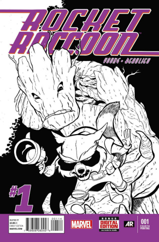 Rocket Raccoon #1 (4th Printing)