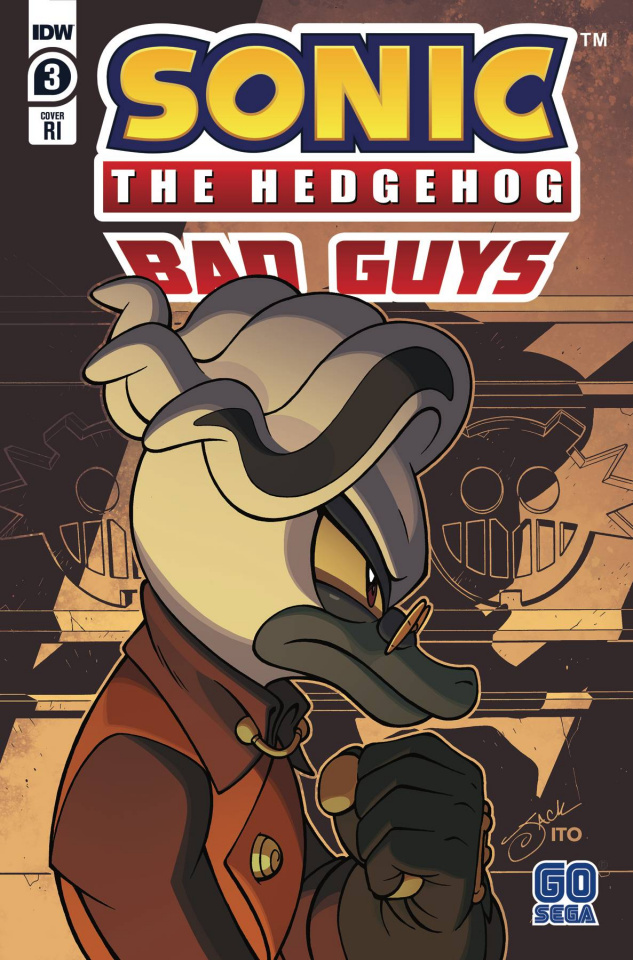 Sonic the Hedgehog: Bad Guys #3 (10 Copy Lawrence Cover)