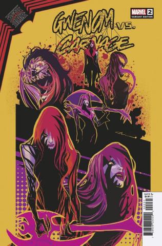 King In Black: Gwenom vs. Carnage #2 (Flaviano Design Cover)