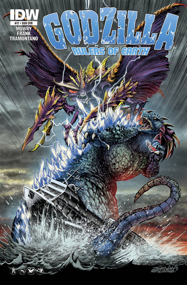 Godzilla: Rulers of Earth #18 (Subscription Cover)