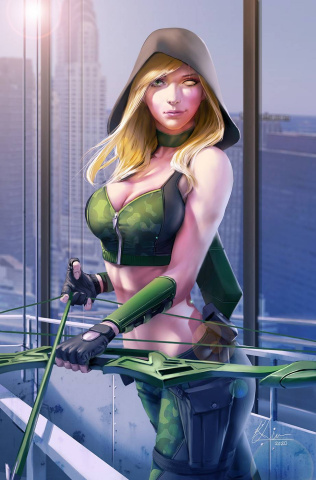 Robyn Hood: Justice #5 (Liversidge Cover)