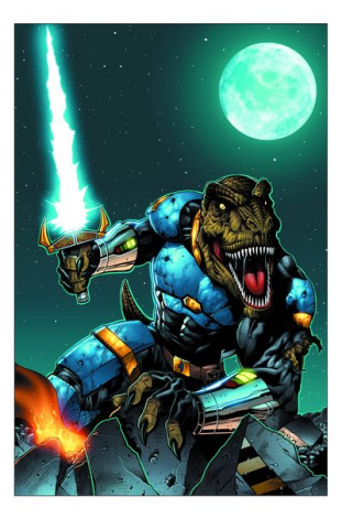 Jurassic Strike Force 5 #0