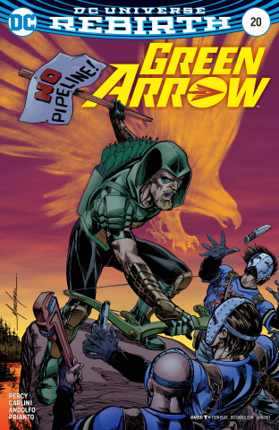 Green Arrow #20 (Variant Cover)