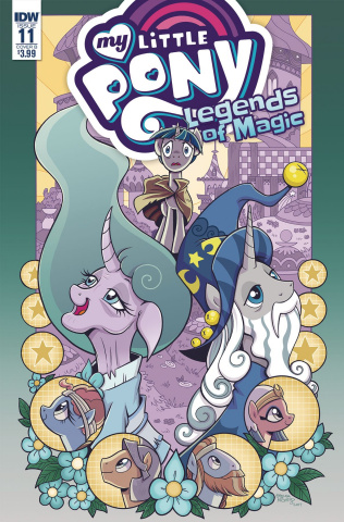 My Little Pony: Legends of Magic #11 (Hickey Cover)