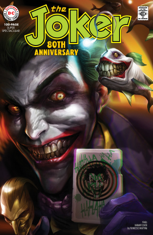 Joker 80th Anniversary 100 Page Super Spectacular #1 (1960s Mattina Cover)
