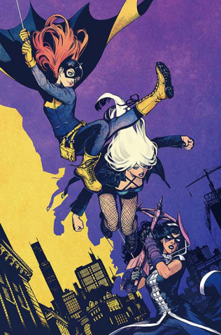 Batgirl and The Birds of Prey #1 (Variant Cover)