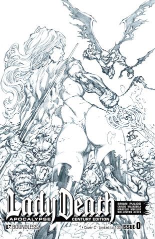 Lady Death: Apocalypse #0 (Century C Cover)
