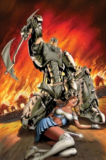 Grimm Fairy Tales: The Warlord of Oz #1 (Goh Cover)