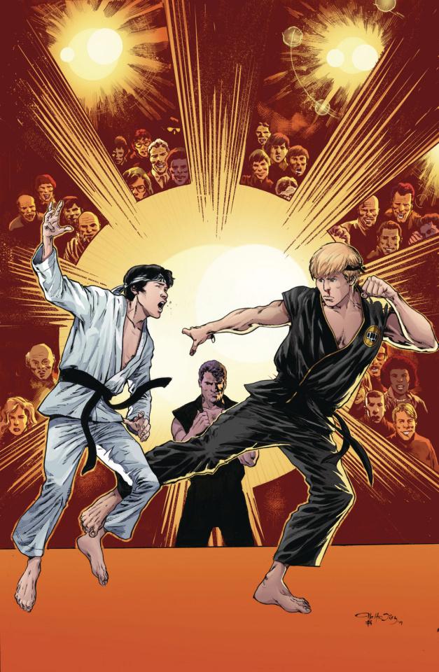 Cobra Kai: The Karate Kid Saga Continues #4 (McLeod Cover)