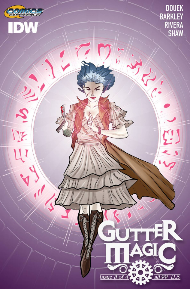 Gutter Magic #3 (Subscription Cover)