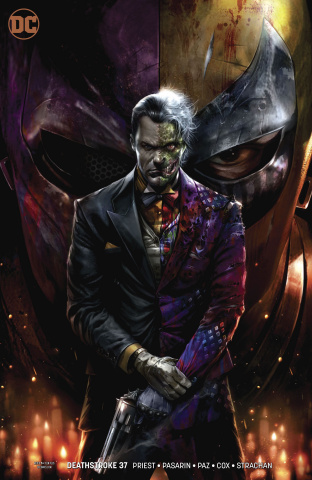 Deathstroke #37 (Arkham Variant)