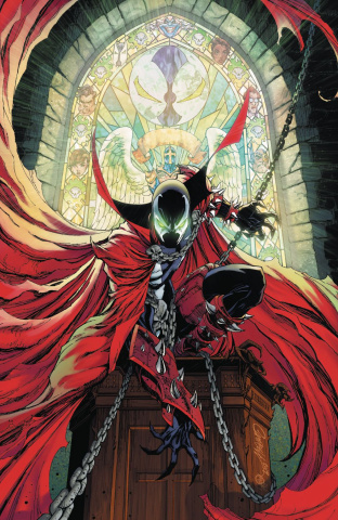 Spawn #300 (Campbell Virgin Cover)