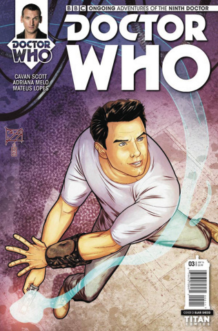 Doctor Who: New Adventures with the Ninth Doctor #3 (Shedd Cover)