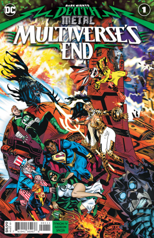 Dark Nights: Death Metal - Multiverse's End #1 (Michael Golden Cover)