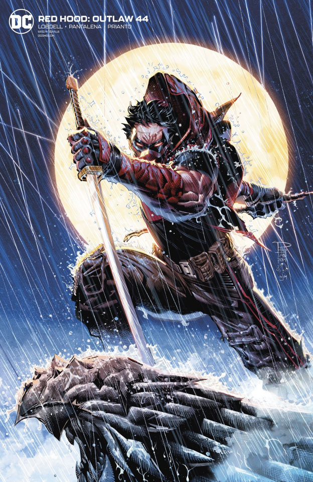 Red Hood: Outlaw #44 (Philip Tan Cover)
