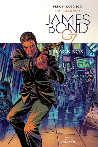 James Bond: Black Box #2 (Valletta Cover)