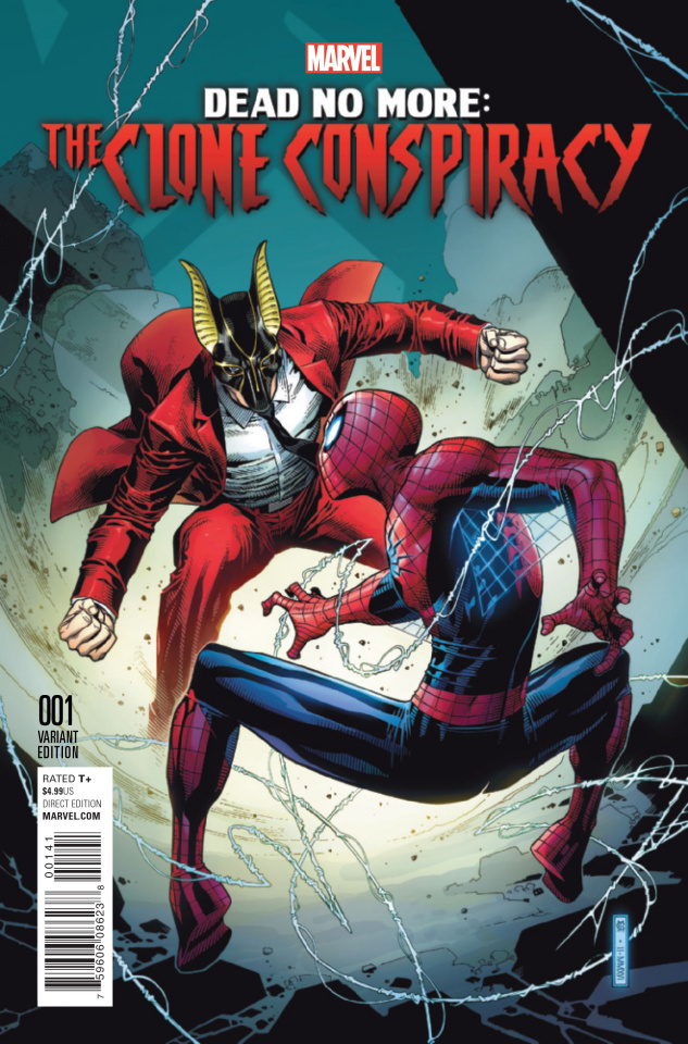 The Clone Conspiracy #1 (Cheung Cover)