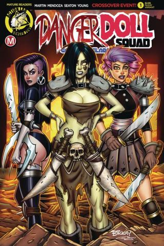 Danger Doll Squad: Galactic Gladiators #1 (McKay Cover)