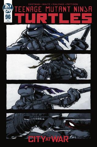 Teenage Mutant Ninja Turtles #96 (10 Copy Campbell Cover)