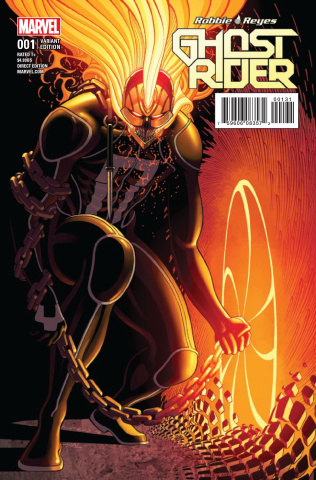 Ghost Rider #1 (Moore Cover)