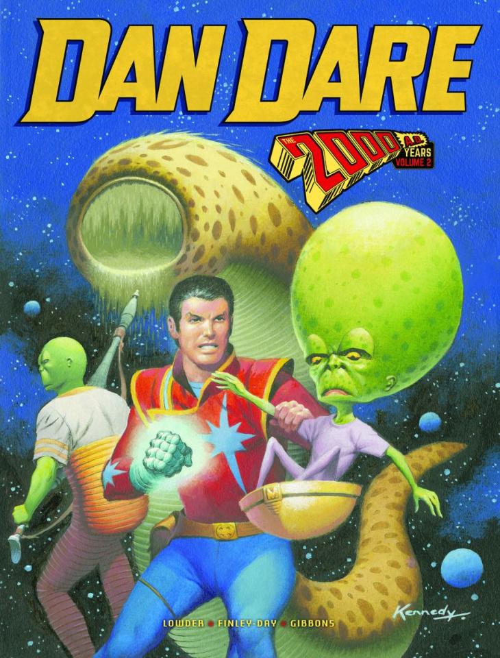 Dan Dare: The 2000 AD Years Vol. 2