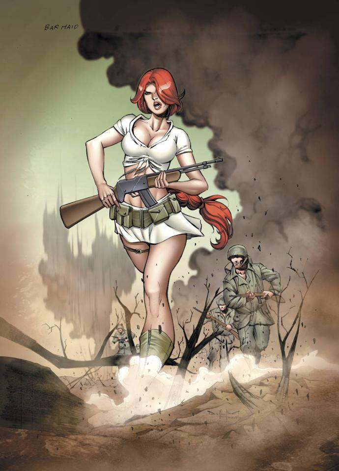 Bar Maid #5 (Qualano Cover)