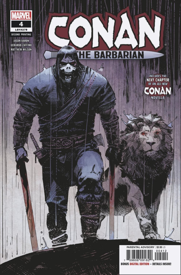 Conan the Barbarian #4 (Zaffino 2nd Printing)