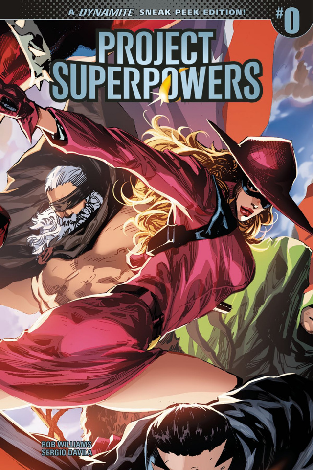 Project Superpowers #0 (20 Copy Cover)