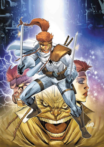 Shatterstar #1 (Liefeld Cover)