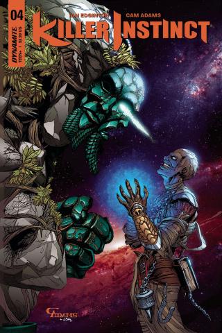 Killer Instinct #4 (Adams Subscription Cover)
