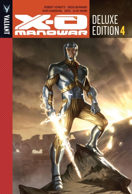 X-O Manowar Vol. 4 (Deluxe Edition)