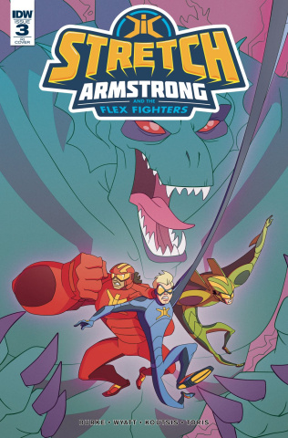 Stretch Armstrong and the Flex Fighters #3 (10 Copy Cover)
