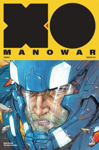 X-O Manowar #25 (Rocafort Cover)