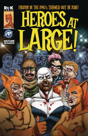 Heroes At Large! #4