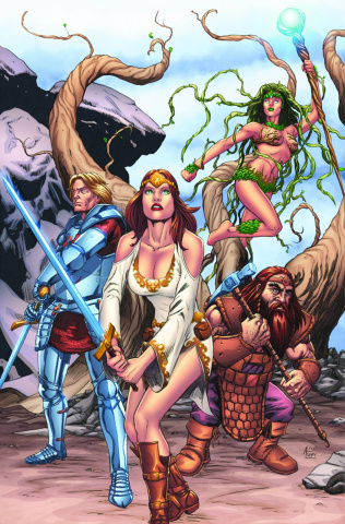 Grimm Fairy Tales: Quest #1 (Spay Cover)