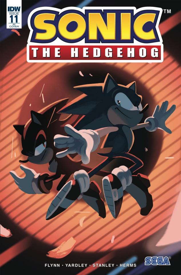 Sonic the Hedgehog #11 (10 Copy Fourdraine Cover)