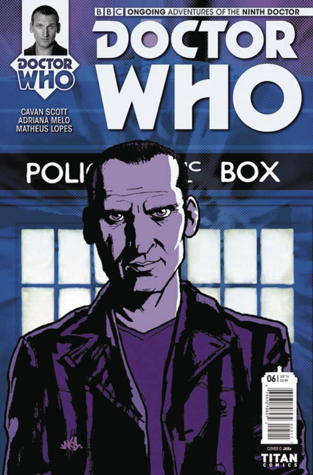 Doctor Who: New Adventures with the Ninth Doctor #6 (Jake Cover)