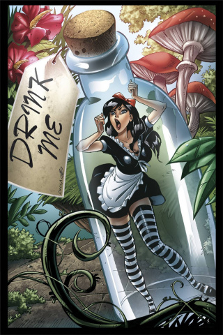 Grimm Fairy Tales: Wonderland #21 (Cucca Cover)