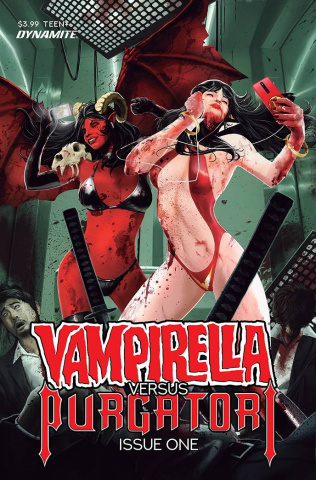 Vampirella vs. Purgatori #1 (Maine Bonus Cover)
