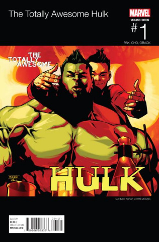 Totally Awesome Hulk #1 (Asrar Hip Hop Cover)
