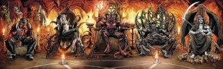 Grimm Fairy Tales: Satan's Hollow #6 (Spay Cover)