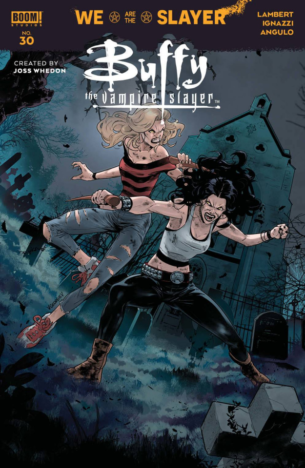 Buffy the Vampire Slayer #30 (Georgiev Cover)